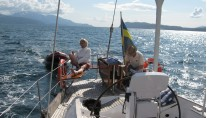 Sail yacht ICHI BAN -  Relaxing on Deck