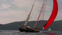 Sail yacht ILIOS -  Cruising with Spinaker