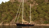 Sail yacht ILIOS -  Relaxing at anchor