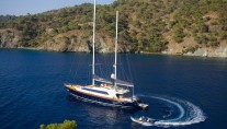 Sail yacht L'AQUILA - On charter