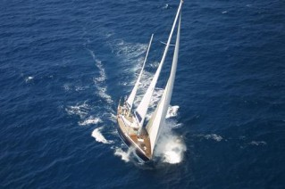 Sail yacht MARGAUX -  From Above