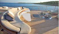 Sail yacht MISS B - Deck Seating