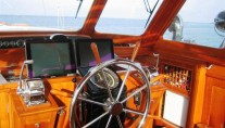 Sail yacht SEA DIAMOND - Cockpit