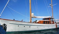 Sail yacht SEA DIAMOND - Port side