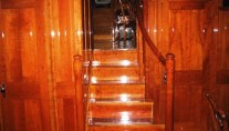 Sail yacht SEA DIAMOND - Stairs