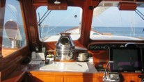 Sail yacht SEA DIAMOND - Wheelhouse