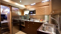 Sail yacht WIZARD -  Galley