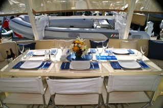 Sailing Catamaran - 42 - Alfresco Dining.JPG