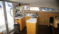 Sailing Catamaran - 42 - Galley