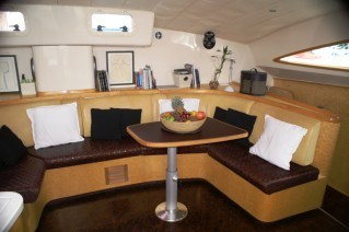 Sailing Catamaran - 42 - Interior Dining.JPG