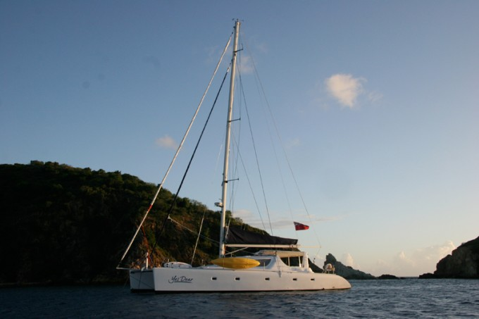 Crewed Catamaran Yes Dear