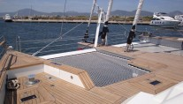 Sailing Catamaran LA SELLA DEL DIAVOLO -  Trampoline Nets Forward