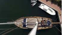 Sailing Gulet MYRA -  From Above