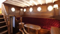 Sailing Schooner ATLANTIC -  Salon Seating