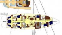 Sailing Yacht ASIA -  Layout