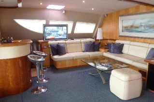 Sailing Yacht Akasha - Salon Lounge