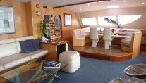 Sailing Yacht Akasha - Salon and Dining