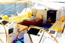 Sailing Yacht Billy Budd 2 -  Cockpit