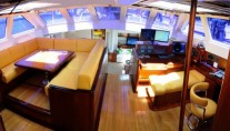 Sailing Yacht Billy Budd 2 -  Deck House Salon
