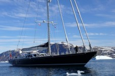 Sailing Yacht Billy Budd 2 -  In the Arctic