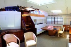 Sailing Yacht Billy Budd 2 -  Salon and Dining