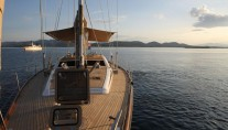Sailing Yacht CONSTANTER - From the bow