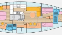 Sailing Yacht CONSTANTER - Layout