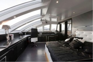 Sailing Yacht Cartouche Cabin - A Blue Coast 95 Catamaran - Photo Credit Gilles Martin-Raget