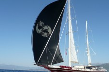 Sailing Yacht DAIMA - At Sail