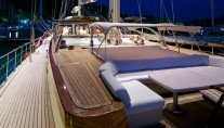 Sailing Yacht DAIMA - Forward Decking