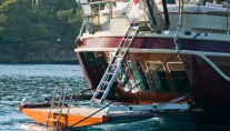 Sailing Yacht DAIMA - Swimming Platform