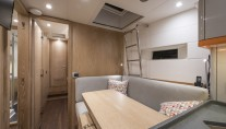 Sailing Yacht FIREBIRD - Guest single or study space
