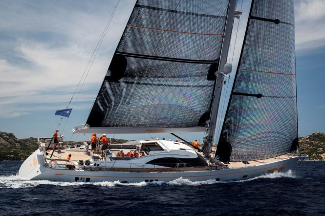 Sailing Yacht FIREBIRD - Main