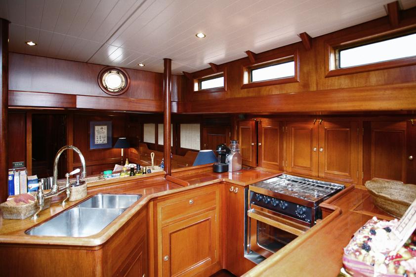 Sailing Yacht Interiors Sailing Yacht Kim Galley