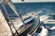 Sailing Yacht Kokomo III - Photo of her Underway at Sea