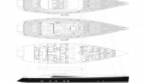 Sailing Yacht Kokomo III - Plans