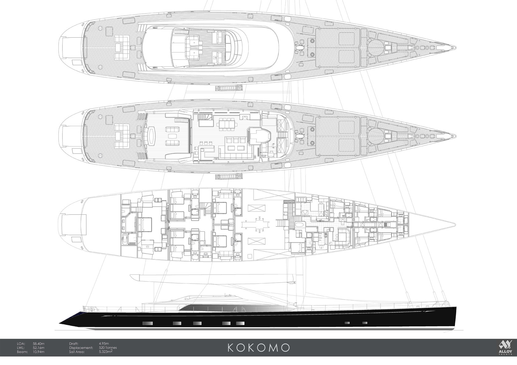 sailing boat plan
