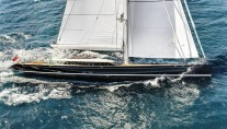 Sailing Yacht Kokomo III - Sailing To Windward
