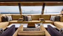 Sailing Yacht Kokomo III - The Saloon Lounge Interior Design