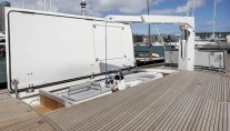 Sailing Yacht Kokomo III - The Tender Garage Hatch