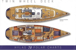 Sailing Yacht Magnetic Sky - Layout Hylas