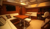 Sailing Yacht Magnetic Sky - Main Saloon