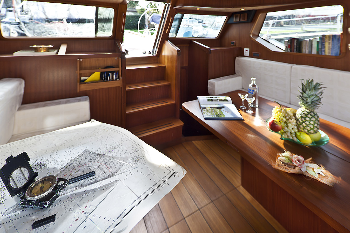Sailing Yacht Interiors Sailing Yacht Myosotis Main