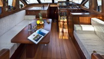 Sailing Yacht Myosotis -  Main Salon