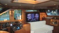 Sailing Yacht Myosotis -  TV in Salon