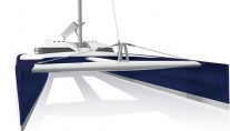 Sailing Yacht Nahema 120 - Catamaran - Image credit to H2X