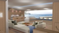 Sailing Yacht Nahema 120 Interior - Image credit to H2X