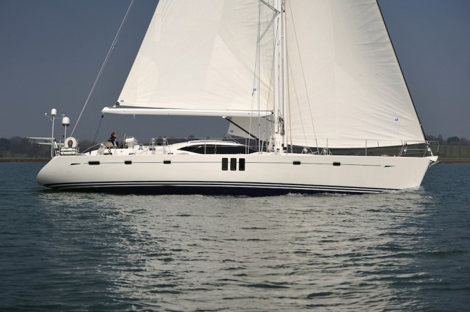 Sailing Yacht Blue Jeannie
