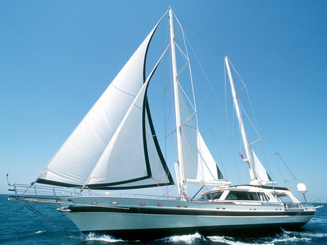 "Sailing Yacht ""Sea Beauty"""