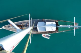 Sailing Yacht TAU -  From Above